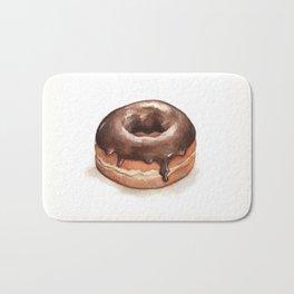Chocolate Glazed Donut Bath Mat