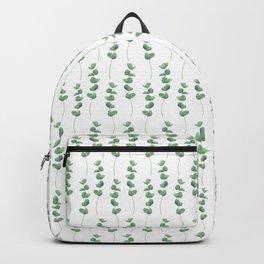 Eucalyptus polyanthemos leaves botanical illustration Backpack