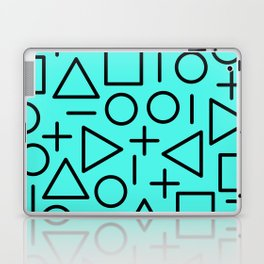 Memphis pattern 68 Laptop & iPad Skin