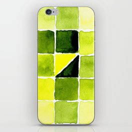 Color Chart - Lemon Yellow (DS) and Sap Green (DS) iPhone Skin