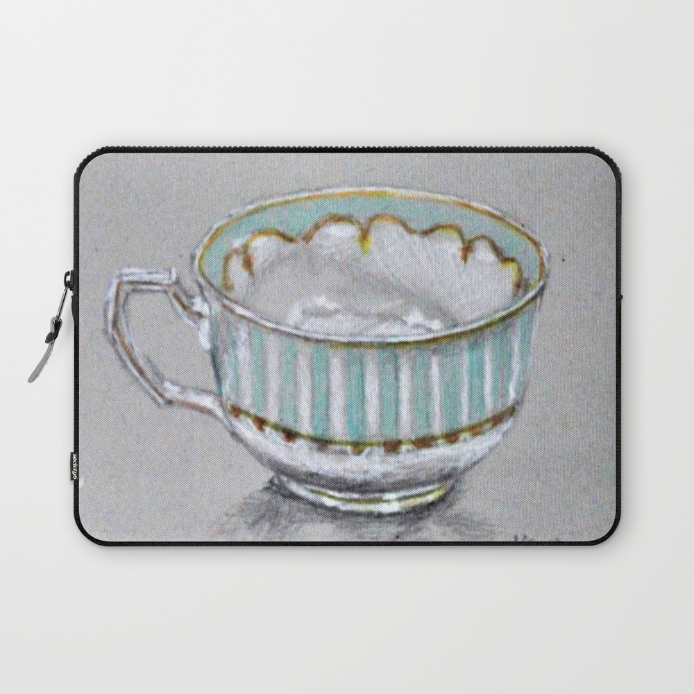 A Cup Of Tea Laptop Sleeve LSV8785165