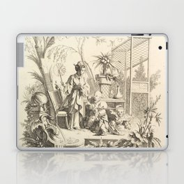 Grisaille Chinoiserie Laptop & iPad Skin