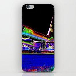 KLM Airlines Digital Art iPhone Skin