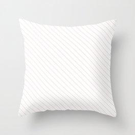Blushing Bride Stripe Throw Pillow