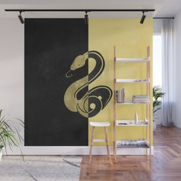 Slytherpuff Wall Mural