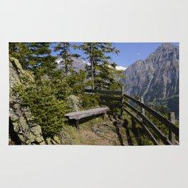 Aellfluh Grindelwald Switzerland Rug