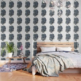 Blue Trametes Mushroom Wallpaper