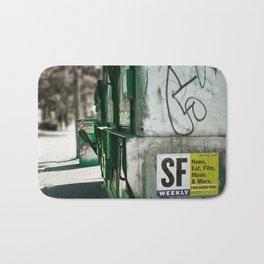 San Francisco Weekly Bath Mat