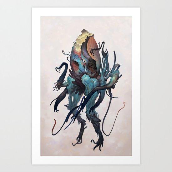 Cqueej Art Print
