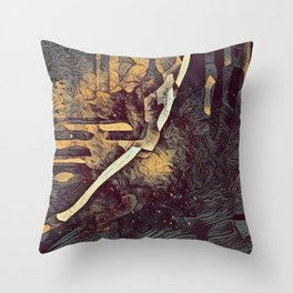Graphic C8 Throw Pillow