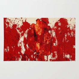 Blood Heart Rug