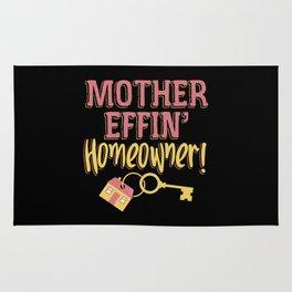 Mother Effing Homeower Rug