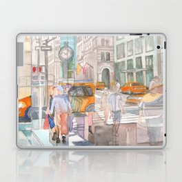 Reflection in the New York City windows II Laptop & iPad Skin