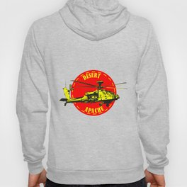 Apache Helicopter Hoody