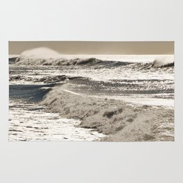Wave to the wind - strong and powerful Rug