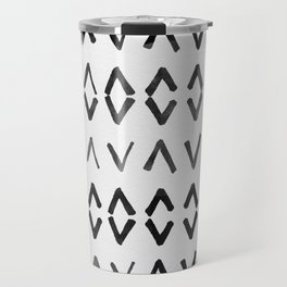 Scandinavian Diamond Pattern Travel Mug