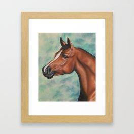 Arabian in Pastel Framed Art Print