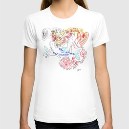 Pisces Yoga T-shirt