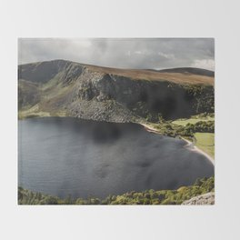 Lough Tay Throw Blanket