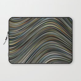 MAGS multi-colour layers create a giant wave Laptop Sleeve