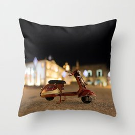 Little Cars, Big Planet (Let's Ride) Throw Pillow
