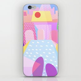 Palace Enclosure - Between Gardens And Ponds iPhone Skin