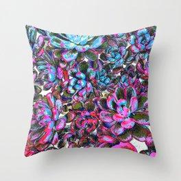 Floral tribute [pixie] Throw Pillow