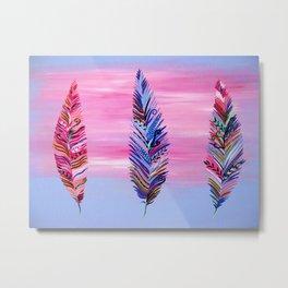 Feathers II Metal Print