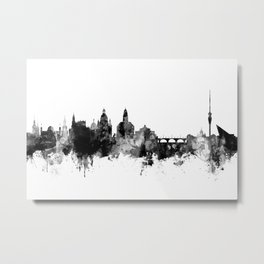 Dresden Germany Skyline Metal Print