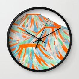 Volcanic Landscape Wall Clock