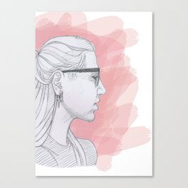 Younger without the Younger Canvas Print