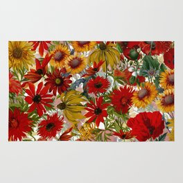Vintage & Shabby Chic - Colorful End Of The Summer Rug