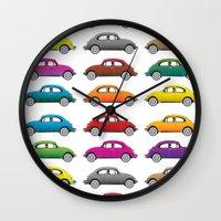 bugs Wall Clocks featuring Bugs!! by Cloz000