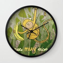 eres muy mono Wall Clock