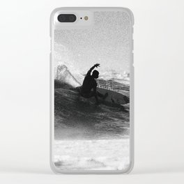 Iconic Indo Surfer Clear iPhone Case