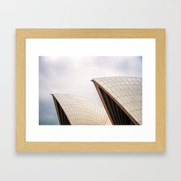 Opera House Detail Framed Art Print