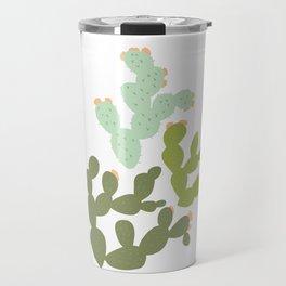 Prickly Pear Cacti Travel Mug