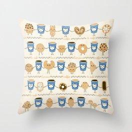 Coffee Lovin' Throw Pillow