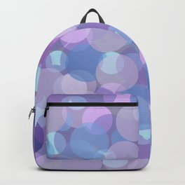 Pastel Pink and Blue Balls Backpack