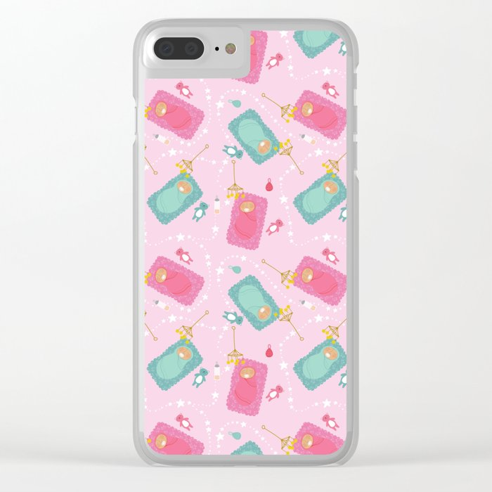 The baby blanket Clear iPhone Case
