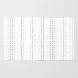 Fuck You - Pin Stripe - Conor McGregor Black Rug