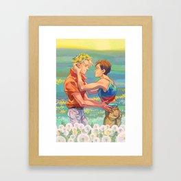 Oduvanchiki Framed Art Print