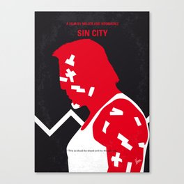 No304 My SIN CITY mmp Canvas Print