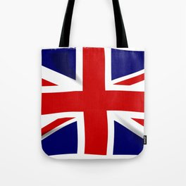 Union Jack Grunge Tote Bag