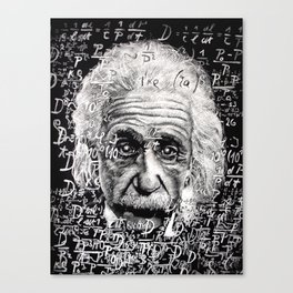 The Mind of a Genius Canvas Print