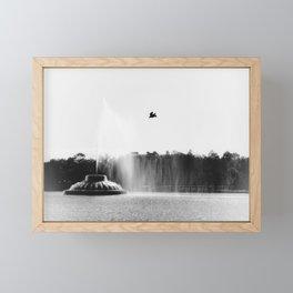Over The Lake Framed Mini Art Print