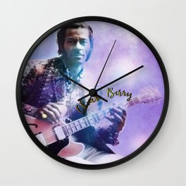 Father of Rock and Roll Wall Clock