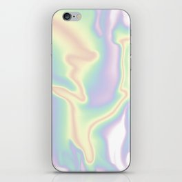HOLOGRAPHIC DAYDREAM iPhone Skin
