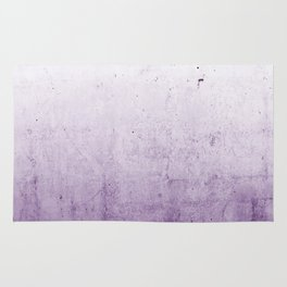 Radiant Orchid Purple Ombre  Rug