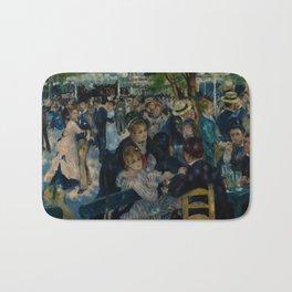 Auguste Renoir - Dance at Le Moulin de la Galette Bath Mat
